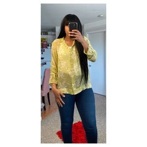 Sheer Illusion Blouse Top by Tommy Bahama